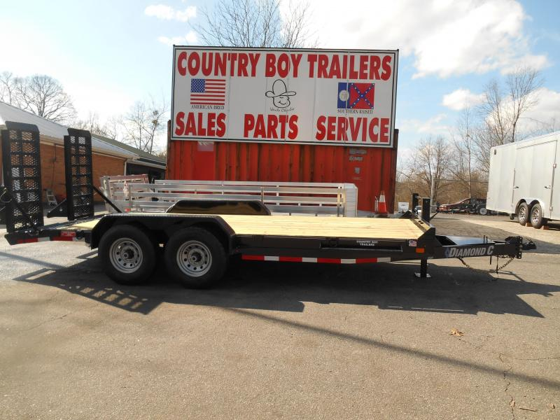 "82""X16' FlatBed W/Ramps 2-7K"
