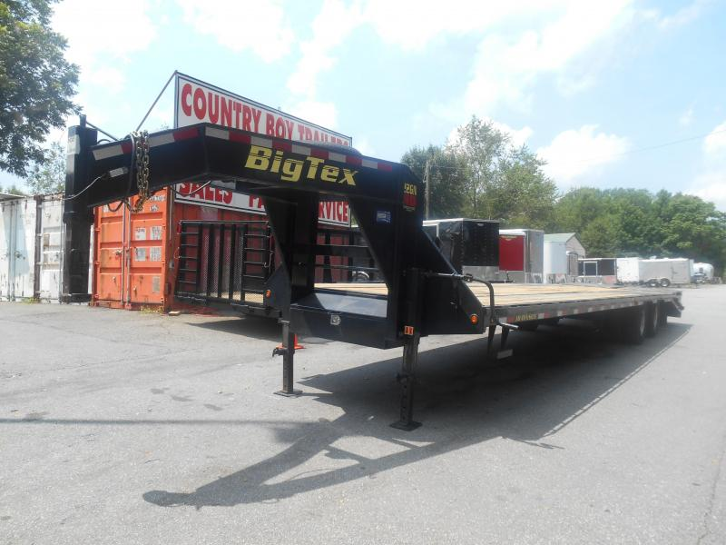 2016 Big Tex Trailers Uesd GN 8.5X305 Equipment Trailer**WATCH VIDEO @ BOTTOM PAGE**