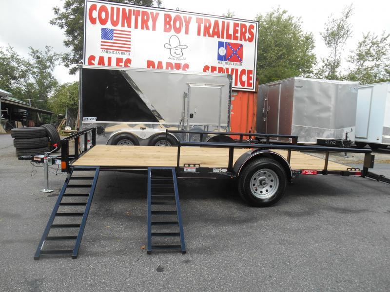 83x14 ATV 1-3500 Lb Axle (Black & Grey Avail. Diamond C)
