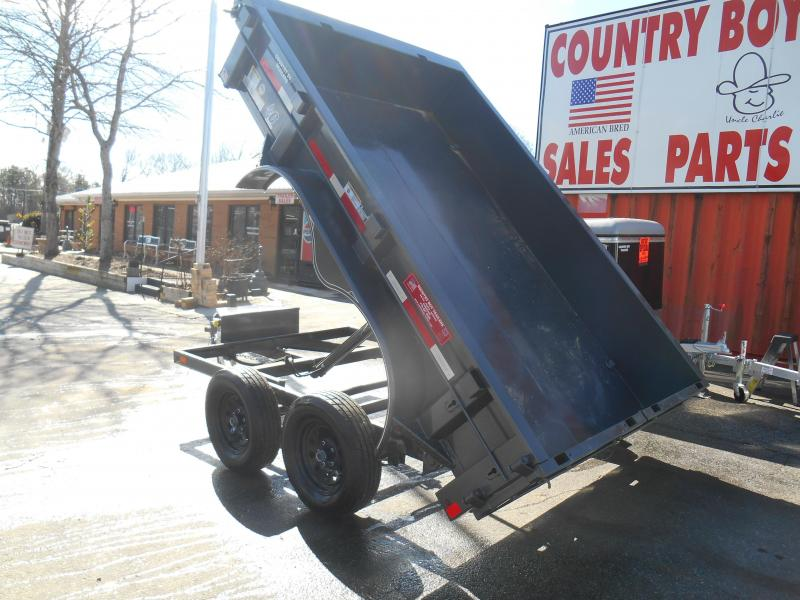 77x10 Dump 2-3500 LBS (Only Black Avail.)