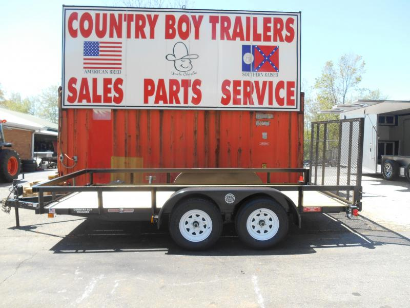 2018 Currahee LD614 Utility Trailer