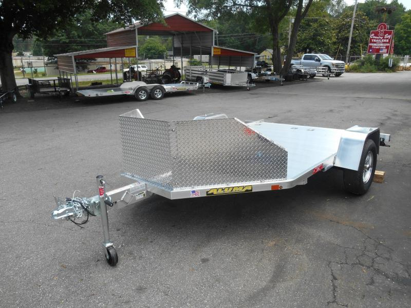 Aluma MC210 Motorcycle Trailer 2 BIKE