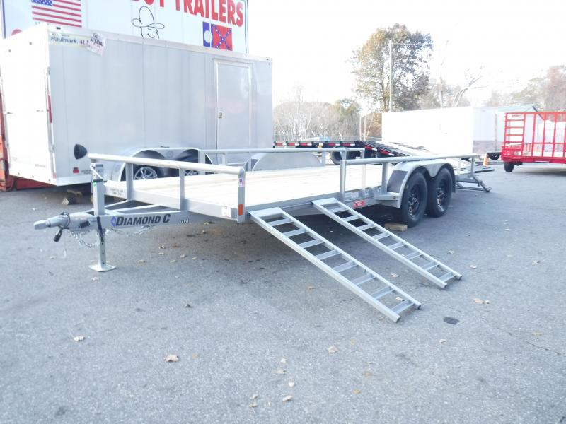 GTU 18X83 Bi-Fold Gate &  Side Load ATV