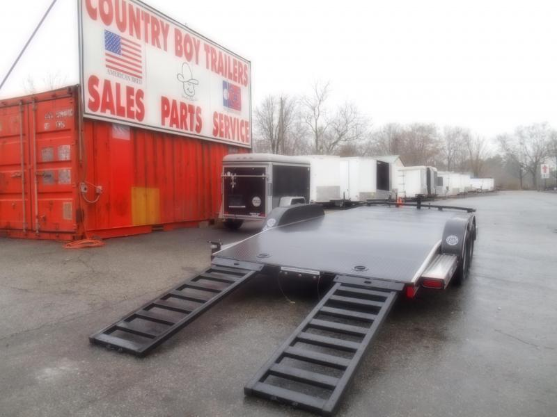 20X83 Car Hauler/Steel Floor (18