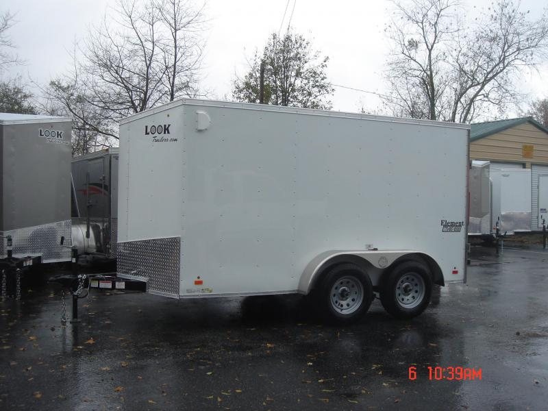 New 2019 Look Trailers EWLC7X12TE2