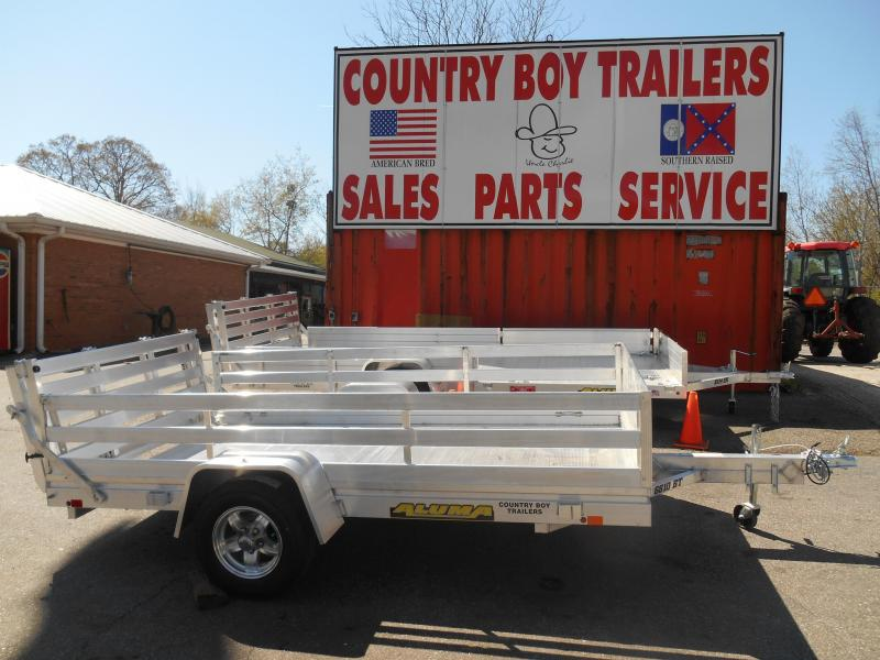 "68""x10' 1-3500# Utility Aluma w/Side Rack Kit"