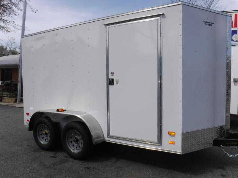 6X12 Enclosed 2-3500 Axle