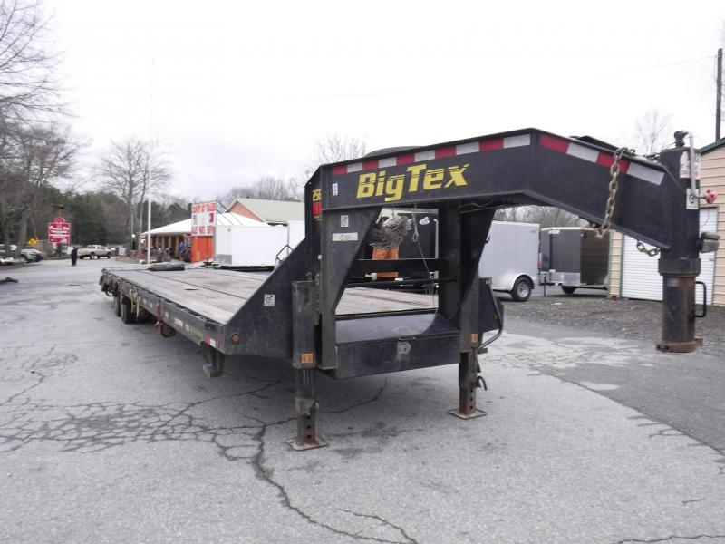 2019 Big Tex Trailers 25GNHD Equipment Trailer