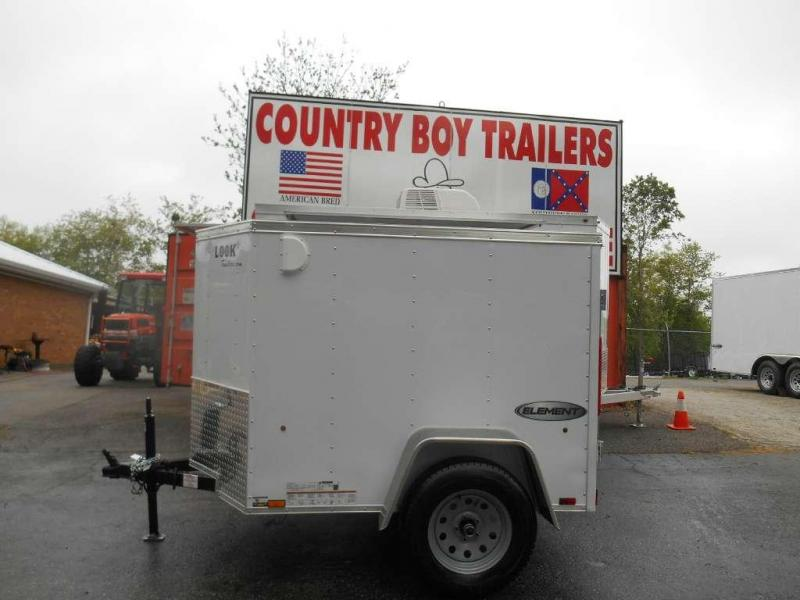New 2018 Look Trailers EWLC4X6S