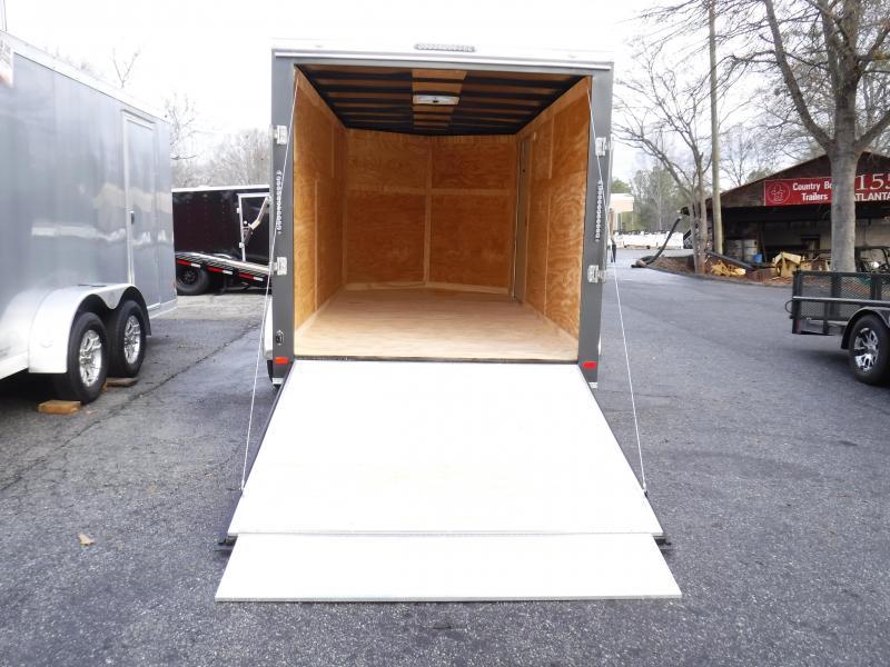 7X14 Enclosed 2-3500 lb.Axle