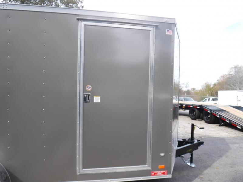 7X16 Enclosed 2-3500 lb.Axle