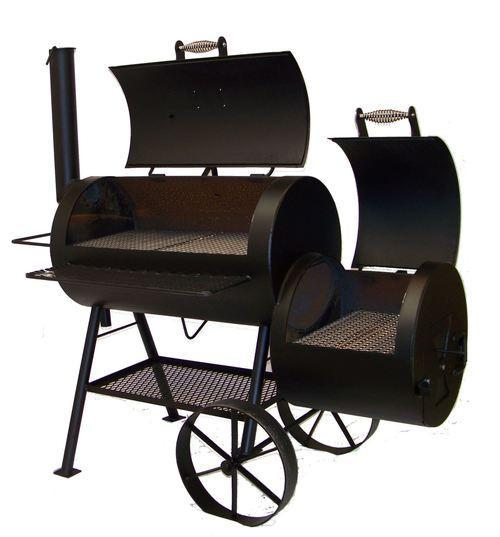 20 Inch Classic Smoker w/Add 2nd Thermometer (here by father's day -shipping included in price)