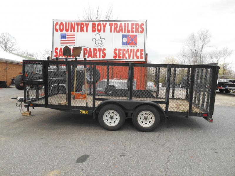 2015 Big Tex Trailers 70LR-16 Equipment Trailer