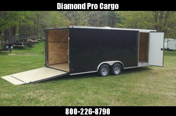2018 8.5x20 Enclosed Cargo Trailer