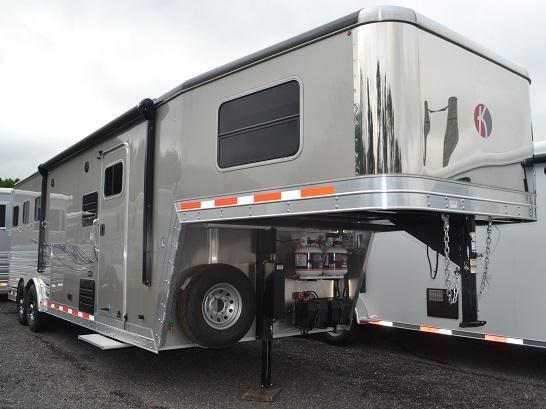 2016 Kiefer Built Genesis 8103 Horse Trailer