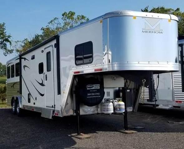 2018 Merhow Trailers Next Generation Alumastar 8311 Horse Trailer