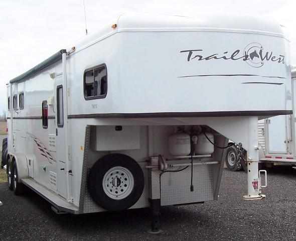 2008 Trails West Manufacturing 8 LQ Horse Trailer