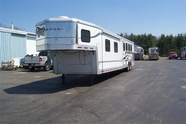 2006 Bison Trailers 8416 MM Horse Trailer