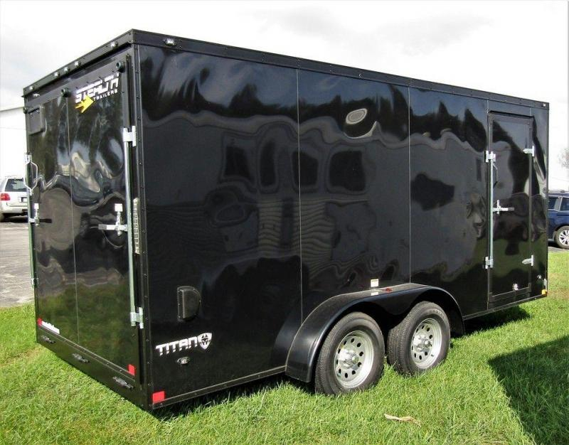 2019 Stealth Titan 7 X 16 TA Enclosed Cargo Trailer