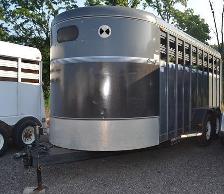 2002 CornPro Trailers BP Livestock Trailer