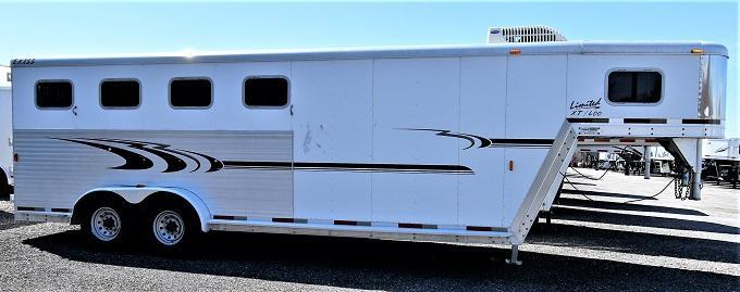 2004 Exiss Trailers XT400 Horse Trailer