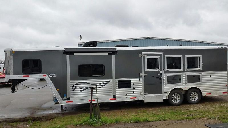 2016 Merhow Trailers 8310 Rear Kitchen Horse Trailer