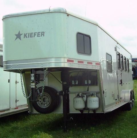 2014 Kiefer Built 440 Freedom Horse Trailer