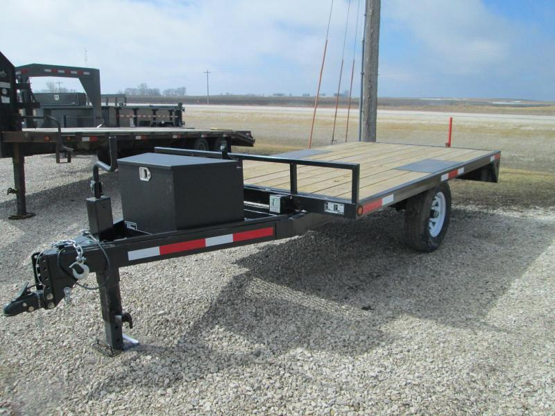 2018 Other 80 X 12 Deck Over Utility Trailer