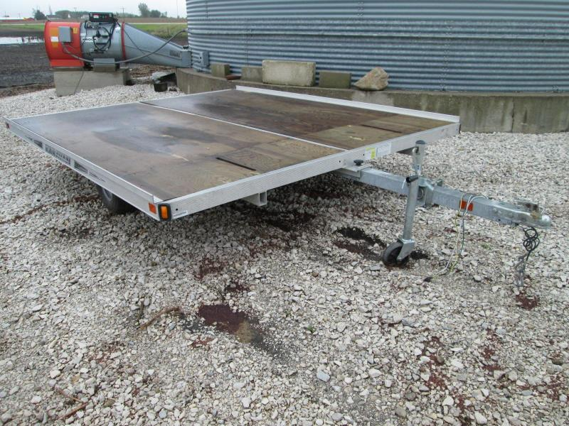 2011 Karavan Trailers 101 X 10 Tilt Snowmobile Trailer Snowmobile Trailer