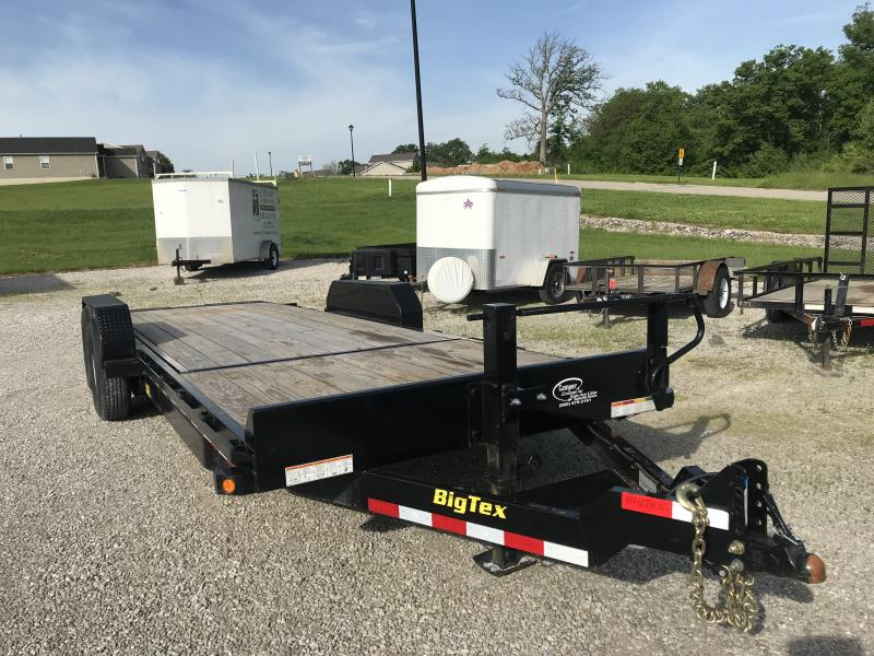 2018 Big Tex Trailers 14TL 22BK Equipment Trailer