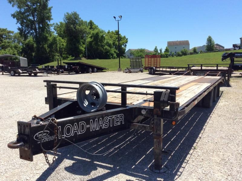 2007 Loadmaster Trailer Company Flatbed Equipment Trailer