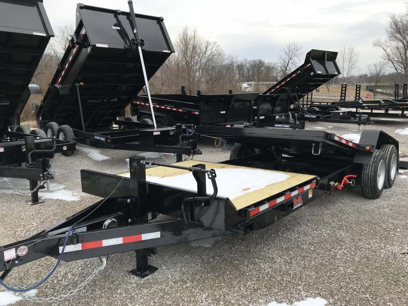 2019 B-B Tilt 83 x 22 Equipment Trailer