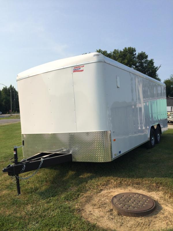 2018 American Hauler Industries Falcon XC Enclosed Cargo Trailer
