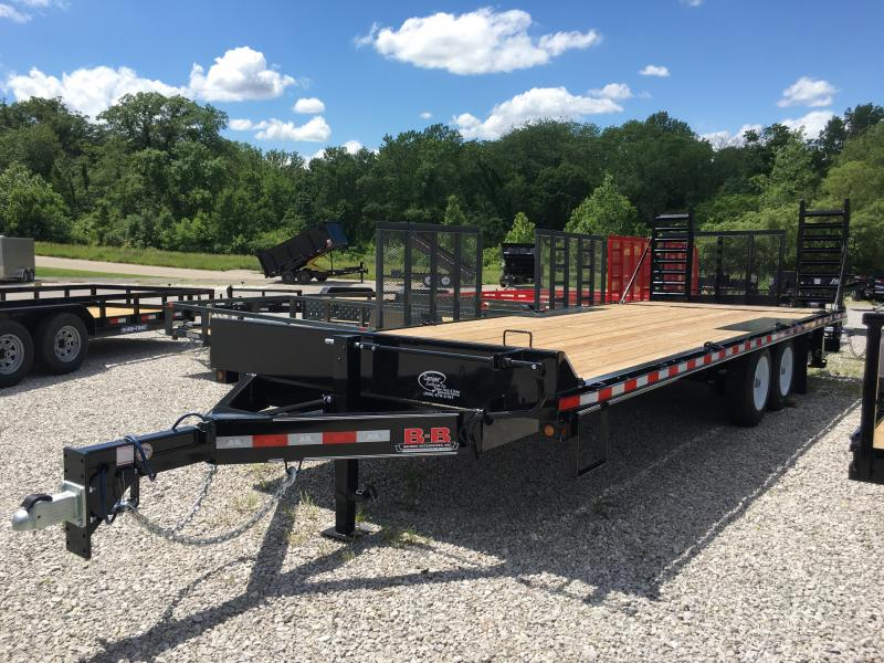 2019 B-B 102 x 23 Equipment Trailer