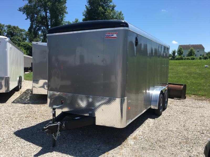 2019 American Hauler Industries 7 x 16 Enclosed Cargo Trailer