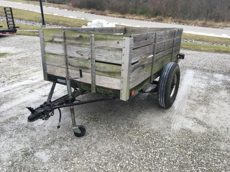 1967 Homemade 4 x 8 Utility Trailer