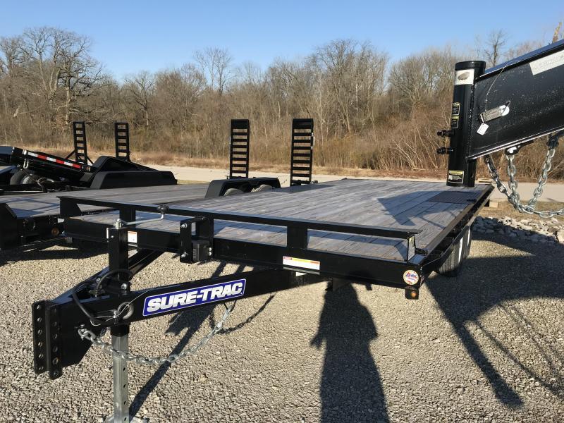 2018 Sure-Trac 8.5 X 20 Flat Deck Deckover 10K