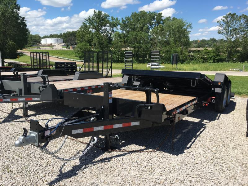 2019 B-B 81 x 22 Equipment Trailer