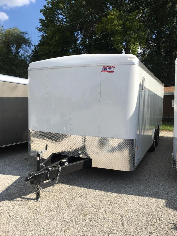 2018 American Hauler Industries Falcon XC 8.5 X 20 Enclosed Cargo Trailer