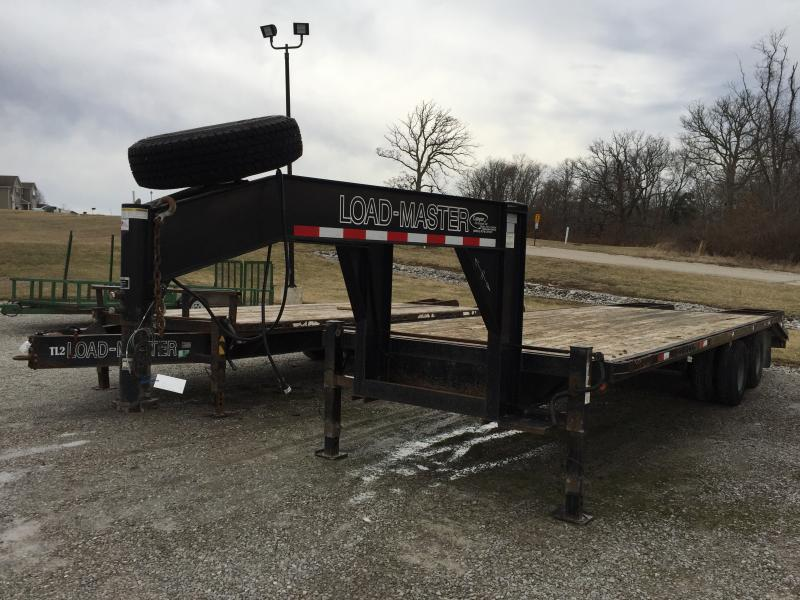 2006 Loadmaster Trailer Company Gooseneck Equipment Trailer