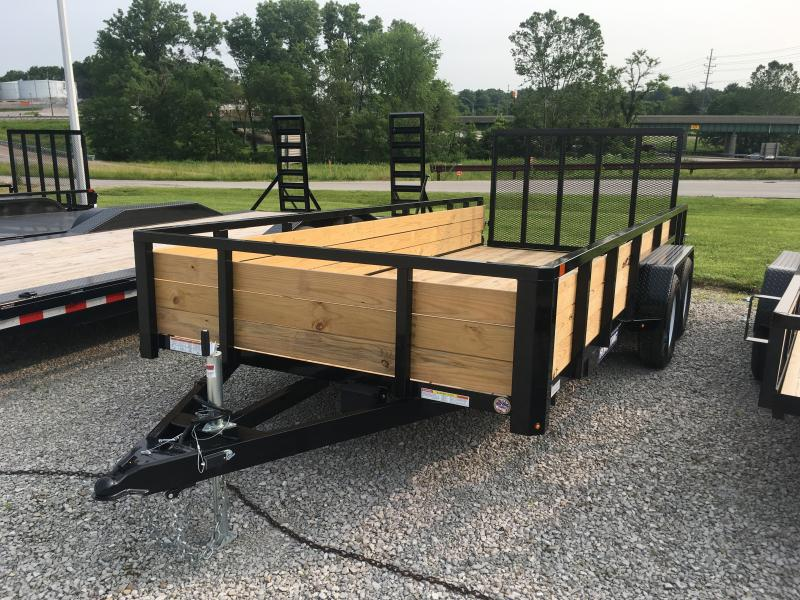 2019 Sure-Trac 7 X 16 Tube Top Three Board  7K Tandem