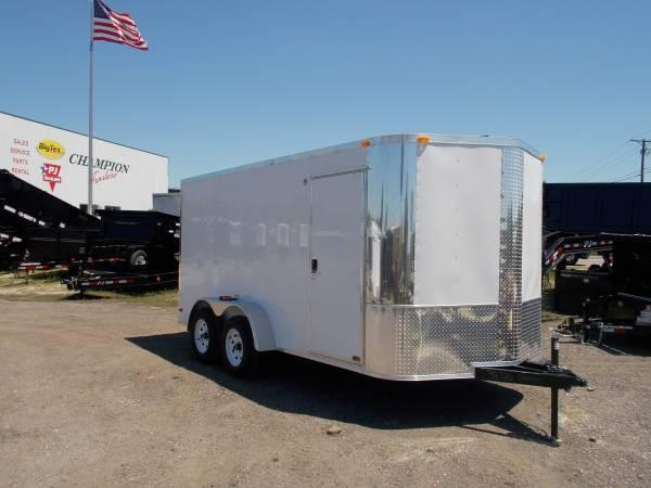 7x14x6 Arising Enclosed Trailer