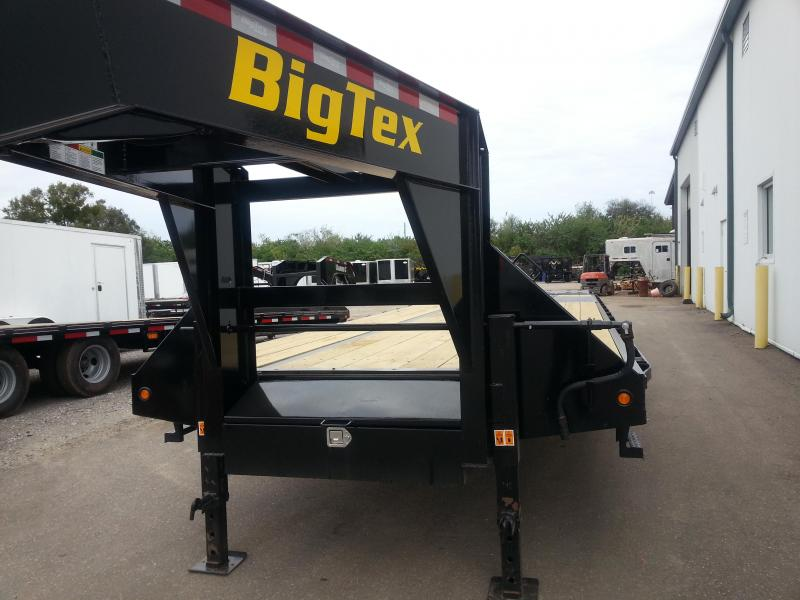 Big Tex 22GN 30'+5' Gooseneck Tandem Dual Equipment Hauler Trailer 35' Gooseneck Trailer