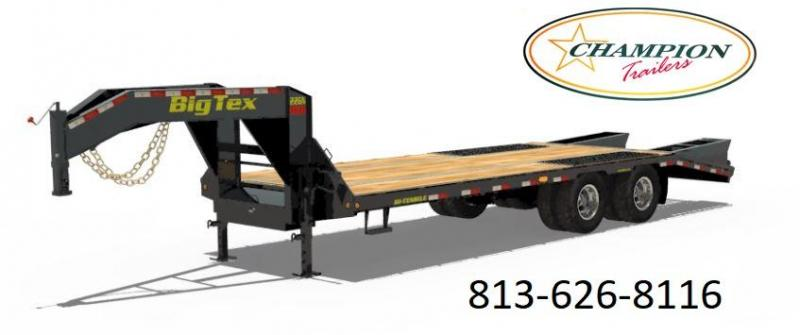 2019 Big Tex Trailers 22GN-32BK5 Equipment Trailer
