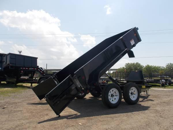 70SR Tandem Axle Single Ram Dump 10ft