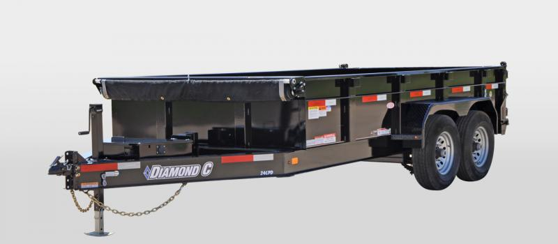 2018 Diamond C Trailers