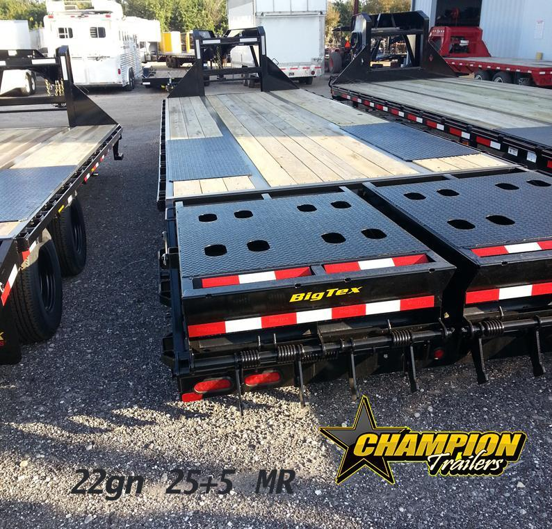 Big Tex Trailers 22gn-25+5