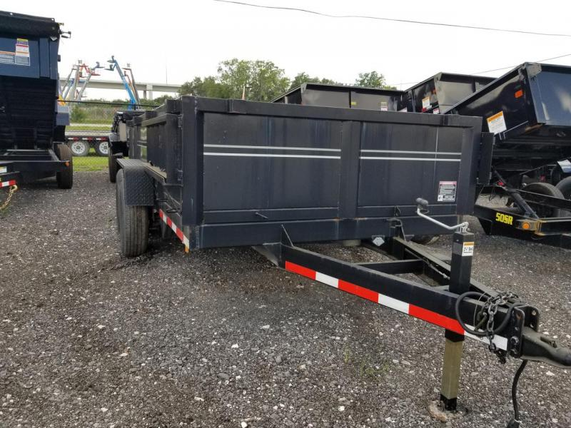 2015 Triple Crown Trailers 7x14 Dump Trailer