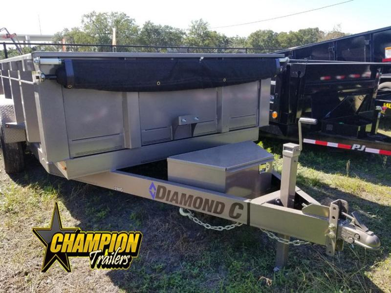Diamond C Trailers 21WD Dump Trailer