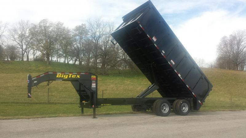 25DU Tandem Dual Gooseneck Dump
